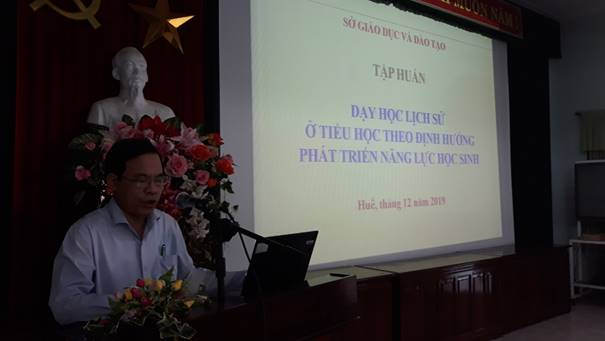 Training conference in teaching history in primary education