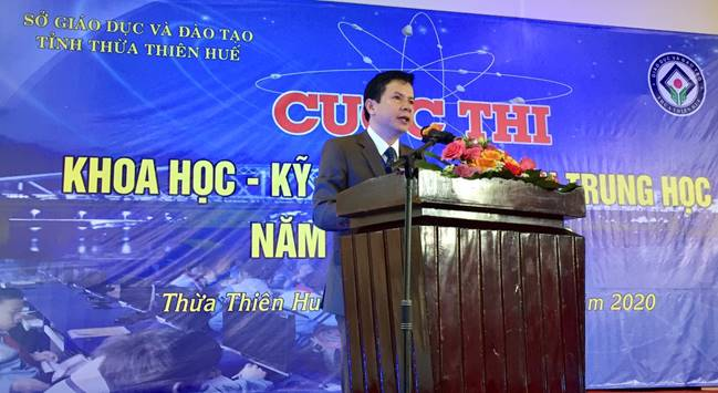 Opening Ceremony of Science and Technology Competition for Thua Thien Hue's secondary students – school year 2019-2020