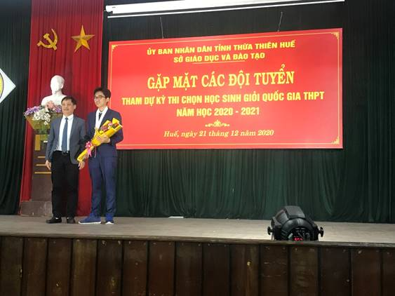 Up 9 awards compared to the previous school year, thua thien hue has 61 students winning the national prize in the school year 2020-2021