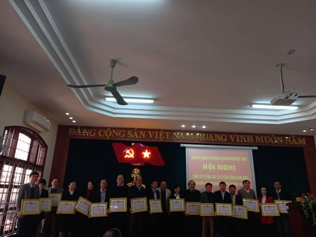 Excellent completion of the mission 2020 of thua thien hue education and training department's party committee
