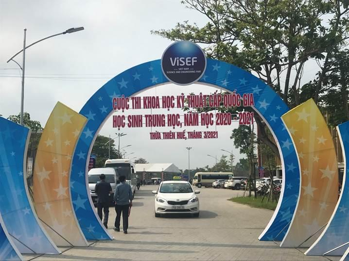 Activities ahead of the Opening Ceremony of ViSEF for secondary school students school year 2020-2021 in Thua Thien Hue province