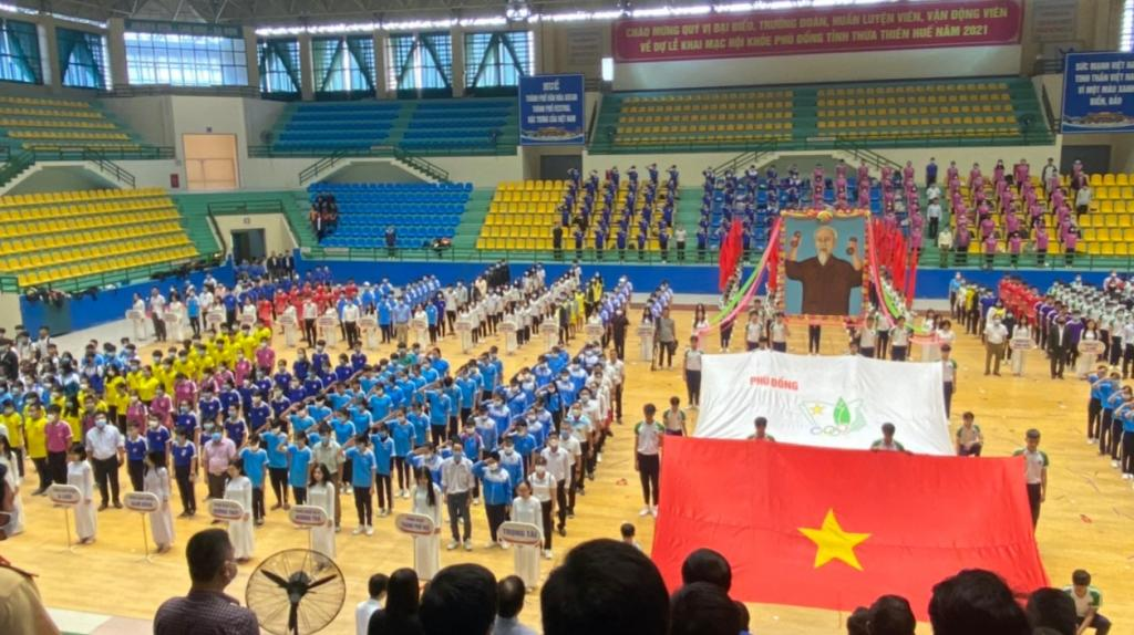 Thua Thien Hue's Phu Dong games - Sports festival for highschool youth